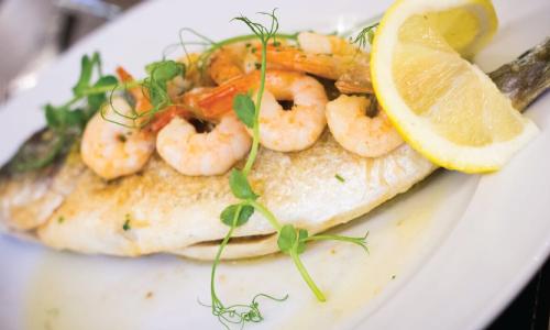 Fish & Vegetarian dishes