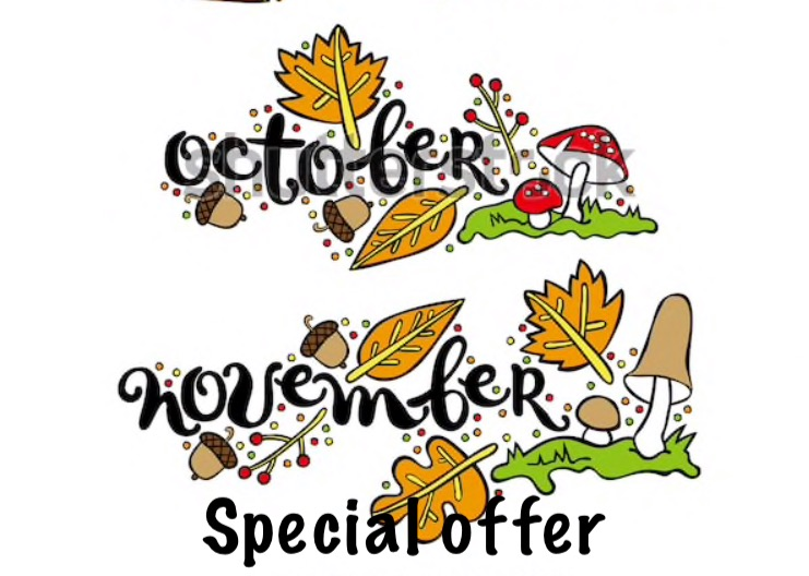 October & November Special Offers