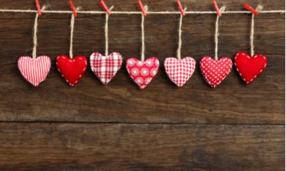 Valentines Weekend Takeaway Menu